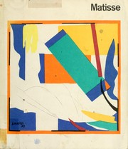 Cover of: Matisse 1869-1954: a retrospective exhibition at the Hayward Gallery.