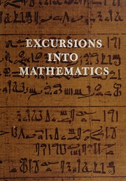 Cover of: Excursions into mathematics