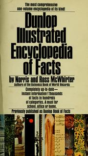 Cover of: Dunlop illustrated encyclopedia of facts