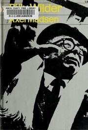Cover of: Billy Wilder