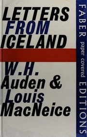 Cover of: Letters from Iceland