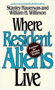Cover of: Where resident aliens live