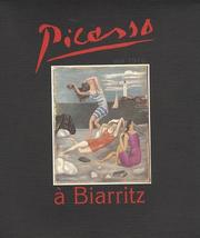 Cover of: Picasso à Biarritz