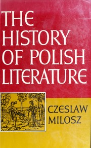 Cover of: The history of Polish literature