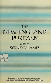 Cover of: The New England Puritans