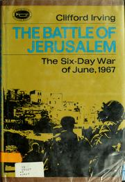 Cover of: The Battle of Jerusalem