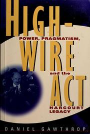 Cover of: Highwire act