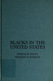 Cover of: Blacks in the United States