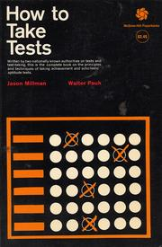 Cover of: How to take tests