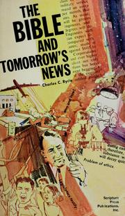 Cover of: The Bible and tomorrow's news