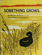 Cover of: Something grows