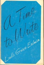 Cover of: A time to write