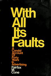 Cover of: With all its faults