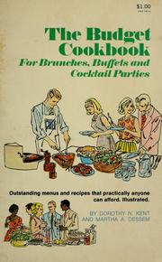 Cover of: The budget cookbook