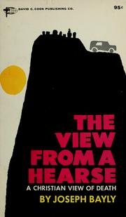 Cover of: View from a hearse