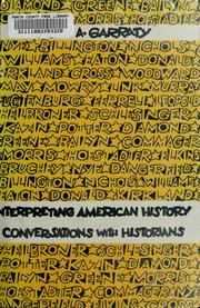 Cover of: Interpreting American history
