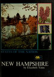 Cover of: New Hampshire