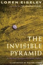 Cover of: The invisible pyramid
