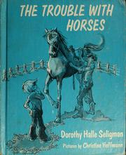 Cover of: The trouble with horses