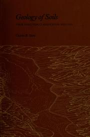 Cover of: Geology of soils; their evolution, classification, and uses