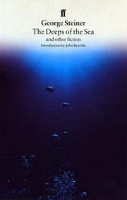Cover of: The deeps of the sea and other fiction