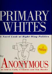 Cover of: Primary whites