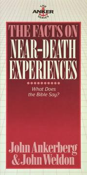 Cover of: The facts on near-death experiences