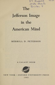 Cover of: The Jefferson image in the American mind