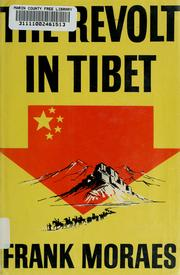 Cover of: The revolt in Tibet