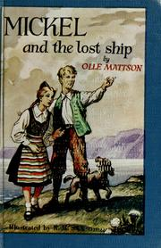 Cover of: Mickel and the lost ship
