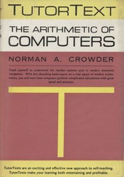 Cover of: The arithmetic of computers