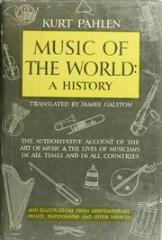 Cover of: The magic world of music