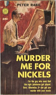 Cover of: Murder me for nickels