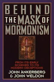 Cover of: Behind the mask of Mormonism