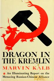 Cover of: Dragon in the Kremlin