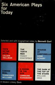 Cover of: Six American plays for today
