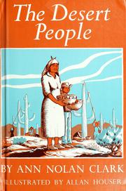 Cover of: The desert people