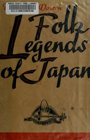Cover of: Folk legends of Japan