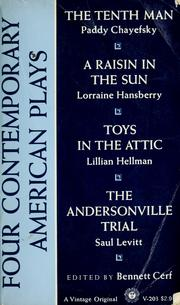 Cover of: Four contemporary American plays
