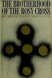 Cover of: The Brotherhood of the Rosy Cross