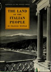 Cover of: The land of the Italian people