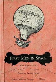 Cover of: First men in space