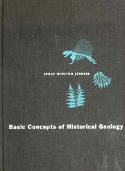 Cover of: Basic concepts of historical geology