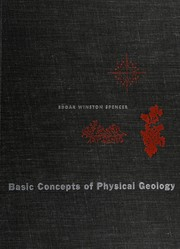 Cover of: Basic concepts of physical geology