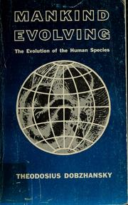 Cover of: Mankind evolving