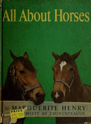 Cover of: All about horses