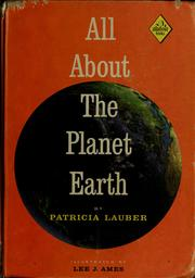 Cover of: All about the planet earth