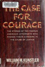 Cover of: The case for courage