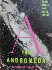 Cover of: A for Andromeda: a novel of tomorrow