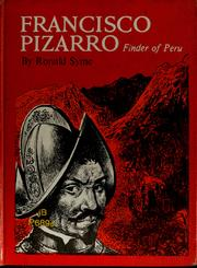 Cover of: Francisco Pizarro, finder of Peru